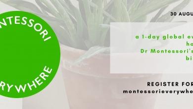 Veľká oslava 150. výročia narodenia Marie Montessori