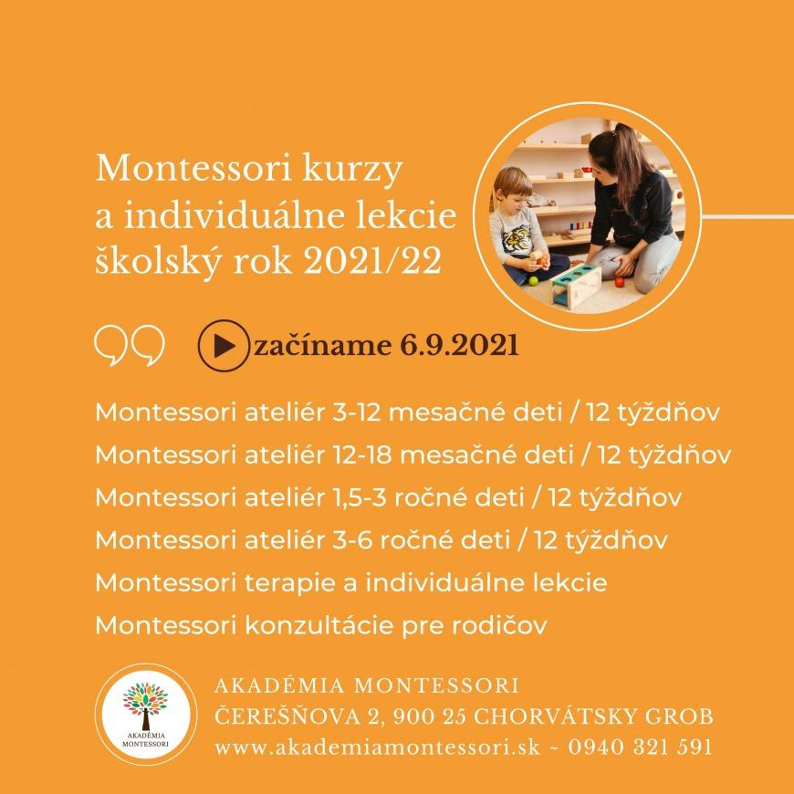 Obľúbené Montessori pracovne